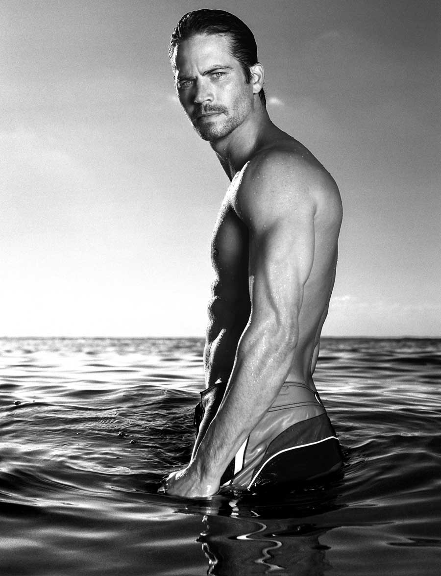 Paul Walker Black And White Photos