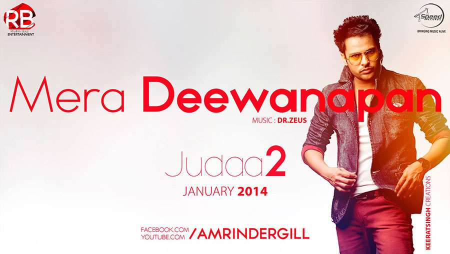 Facebook covers for amrinder gill for Deewanapan movie