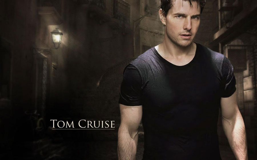 Tom Cruise Fit Body Wallpaper