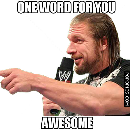 Triple H One Word For You