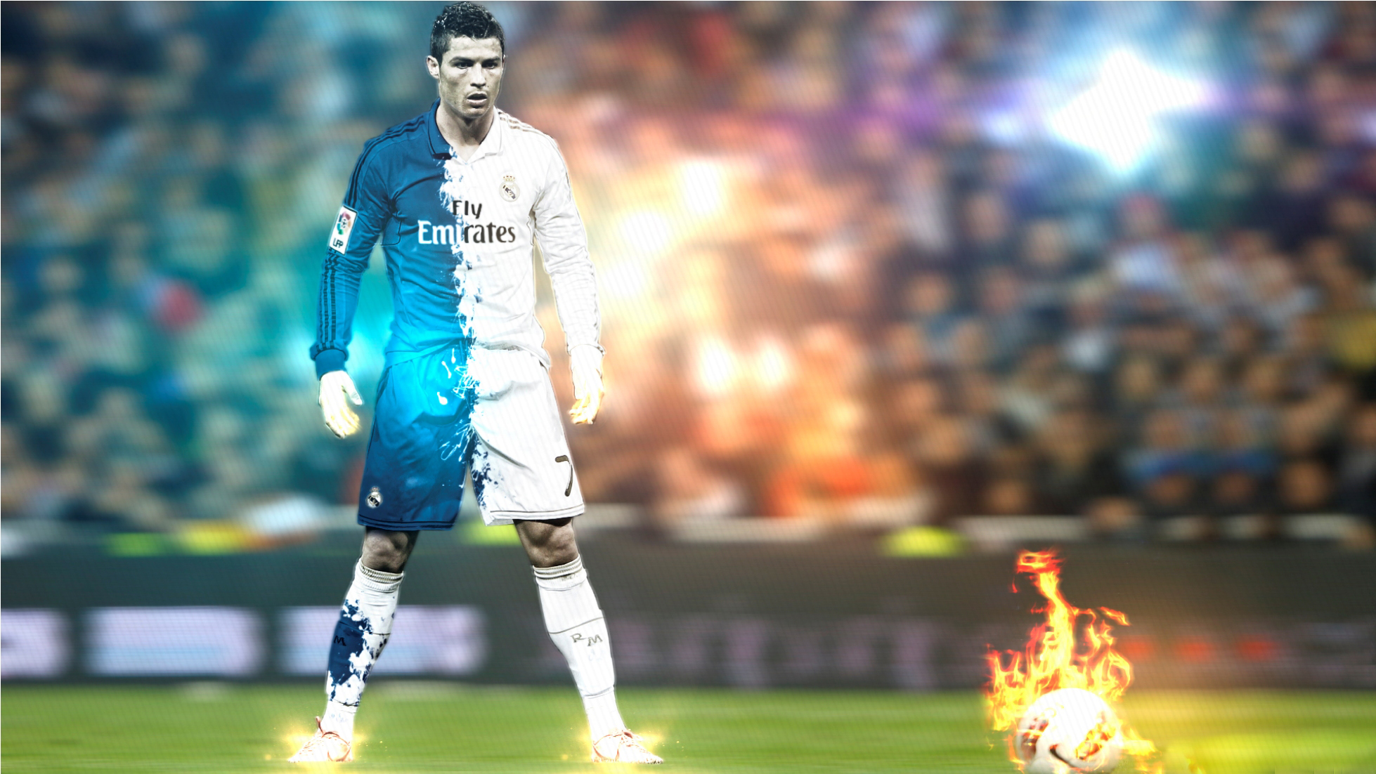 Art Of Cristiano Ronaldo Fans Wallpaper Sport Soccer: Cristiano Ronaldo HD Wallpapers • PoPoPics.com