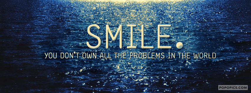 smile quotes facebook covers