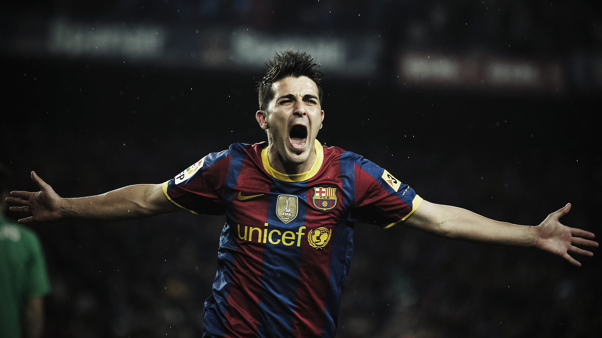 David villa hd wallpapers for Villas wallpaper