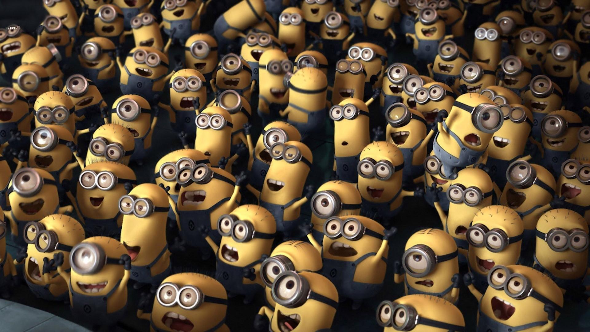 Despicable Me Minions Wallpaper Desktop HD• PoPoPics.com