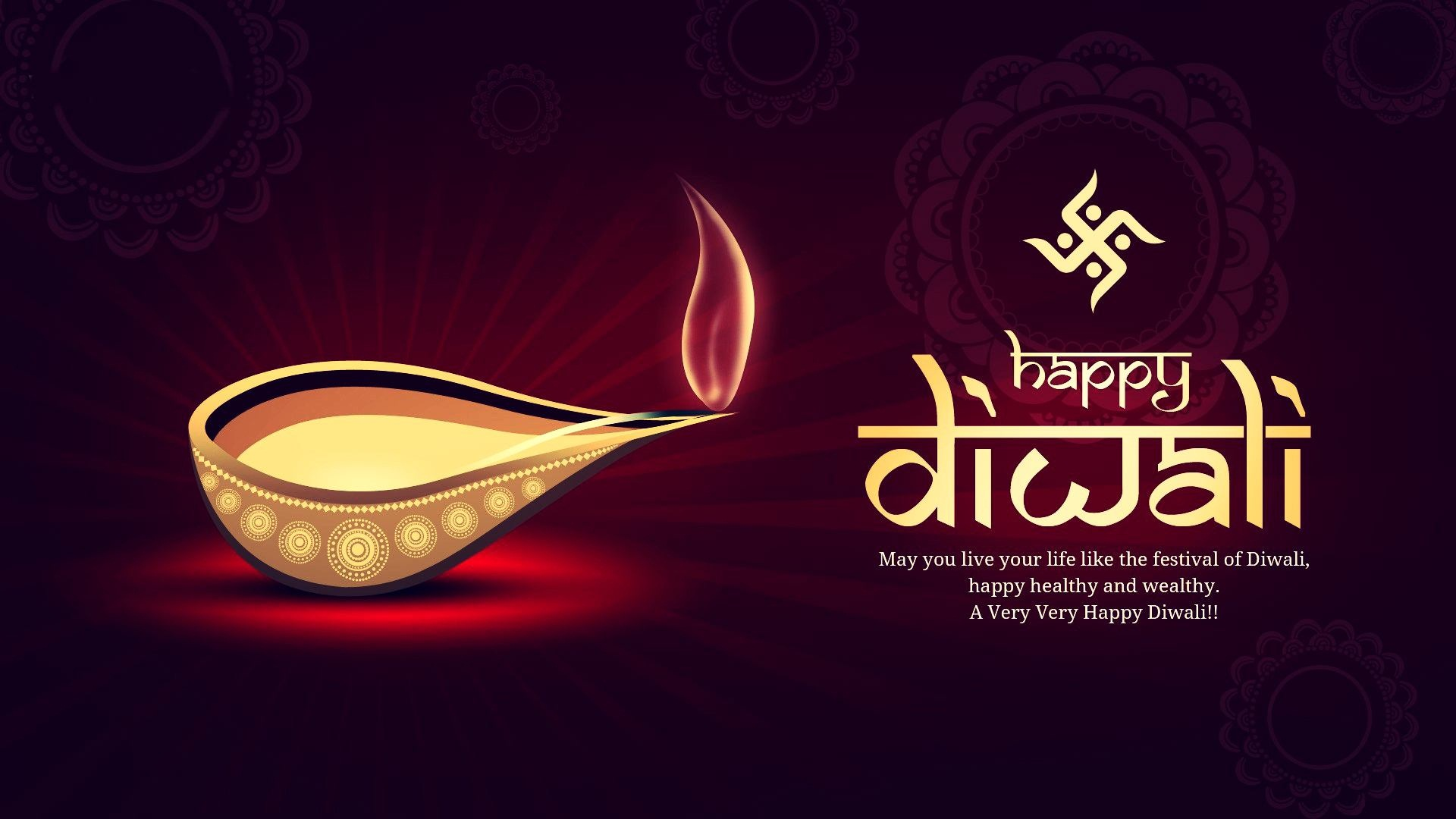 Happy Diwali Happy New Year Posters - Facebook Cover ...