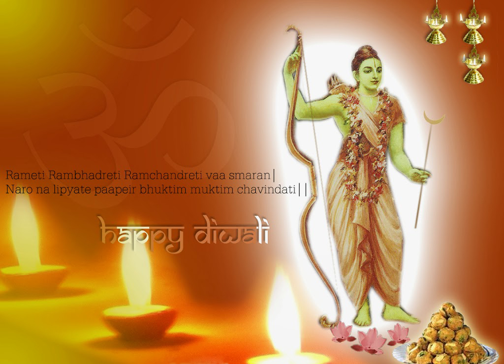 Happy Diwali And New Year Wallpapers: Shree Ram Happy Diwali Happy New Year Wallpapers Popopics