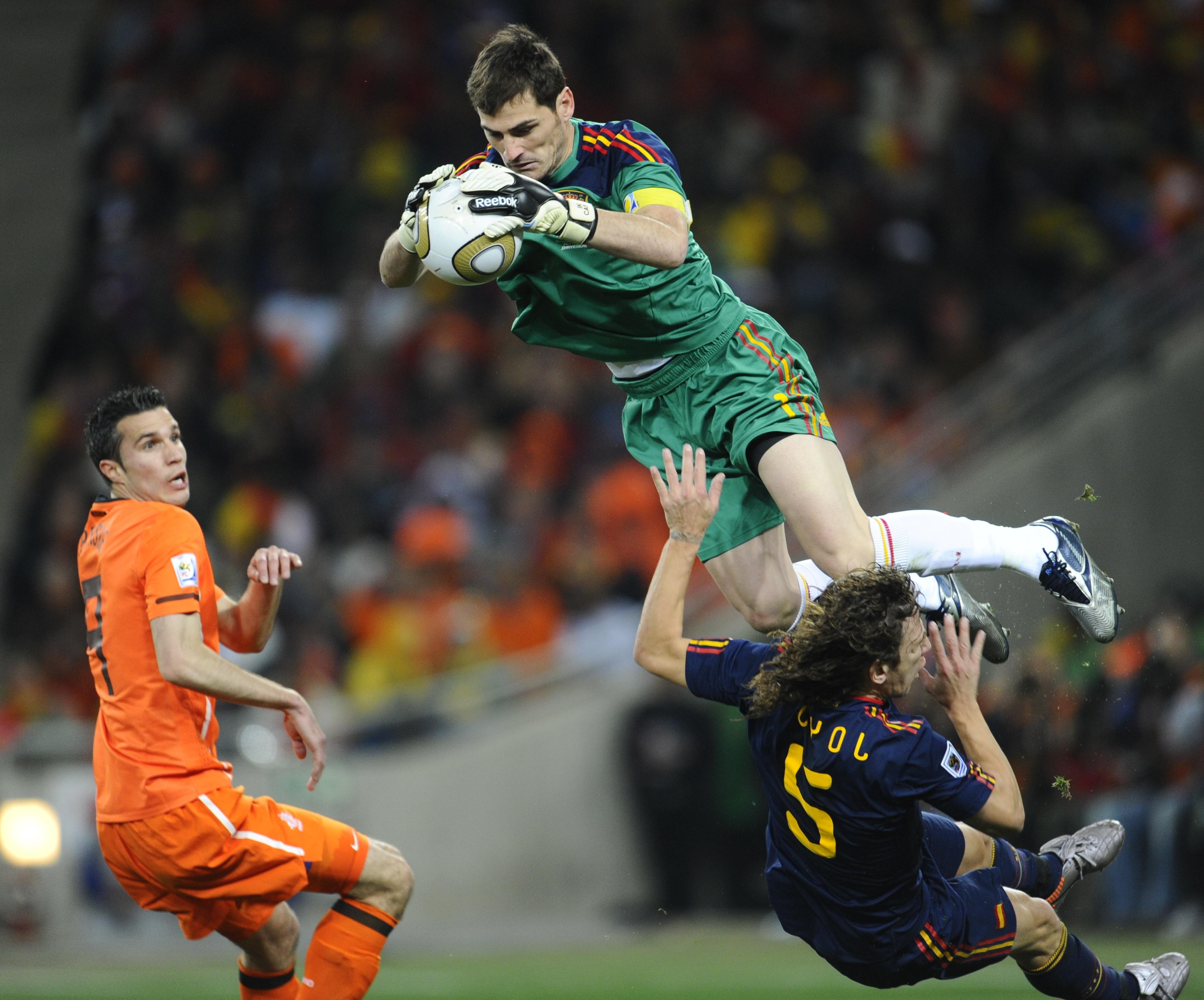 Iker Casillas Spanish Football Goalkeeper • PoPoPics.com