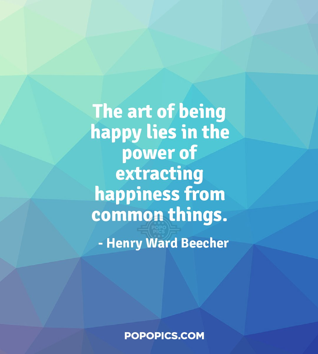 The art of being happy lies in the power of quotes by henry ward beecher - The cob house happiness lies in simple things ...