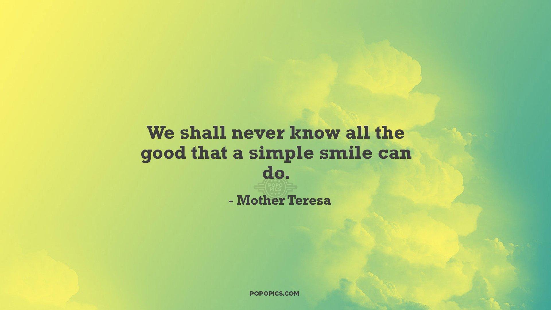 simple smile quotes