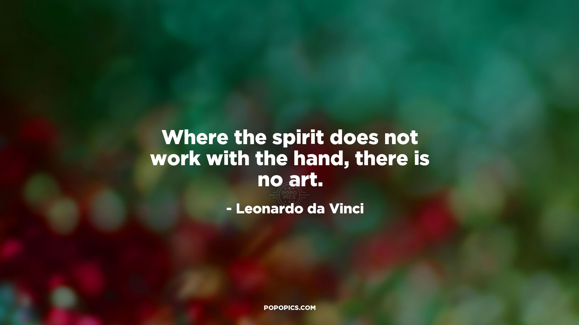 Where The Spirit Does Not Work With The Hand Quotes By