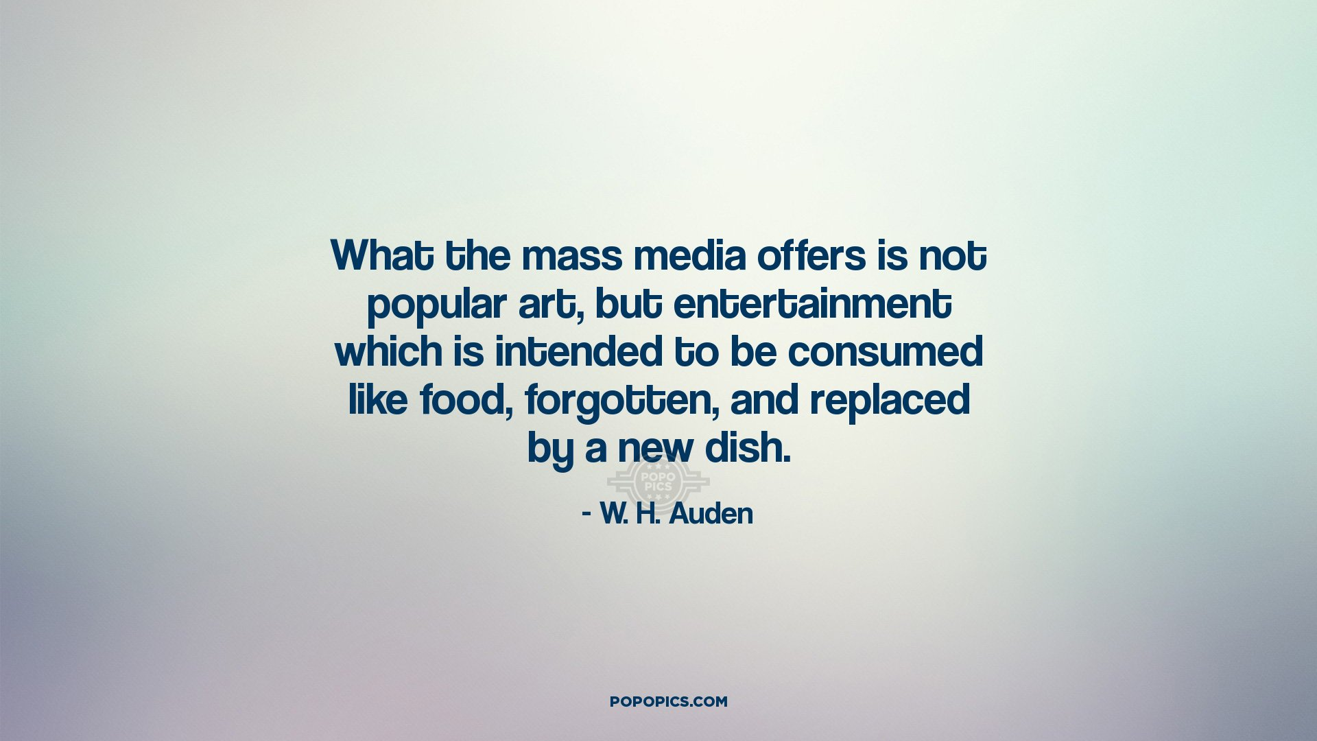consumption and mass media paper