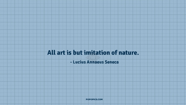 all art is an imitation of nature essay