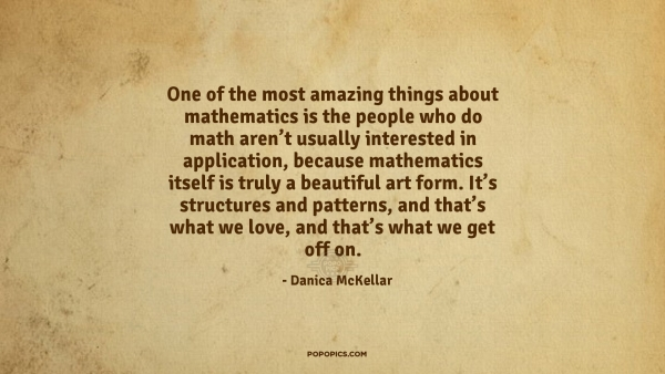 Amazing Quote By Danica Mckellar Lj